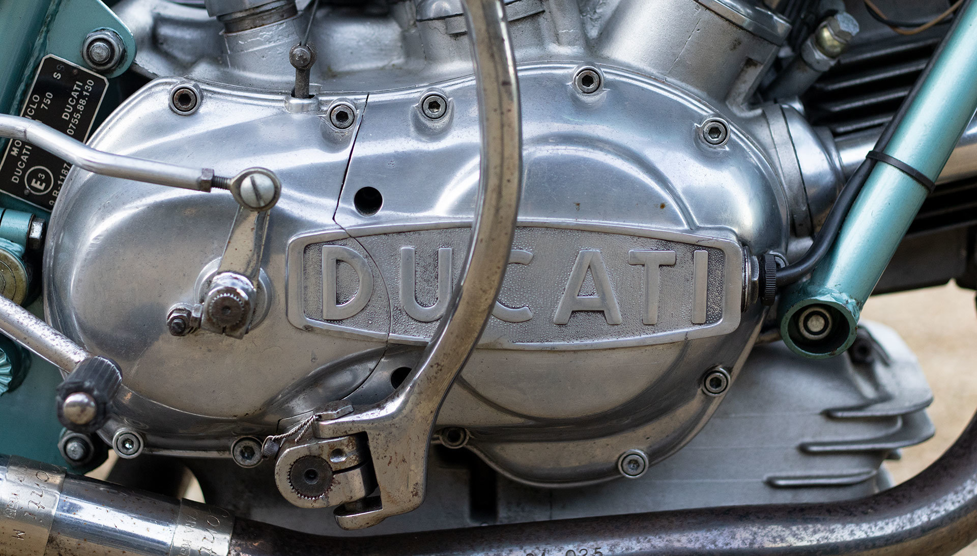 1974 Ducati 750 SS 'Green Frame' - Genuine with Falloon Report For Sale (picture 8 of 17)