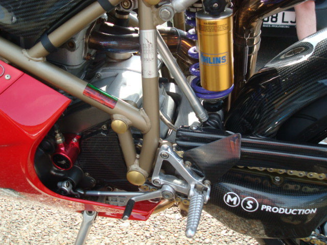 Ducati 748 SPS FOGGY REP 1998-R **MINT**LOW MILES** For Sale (picture 9 of 12)