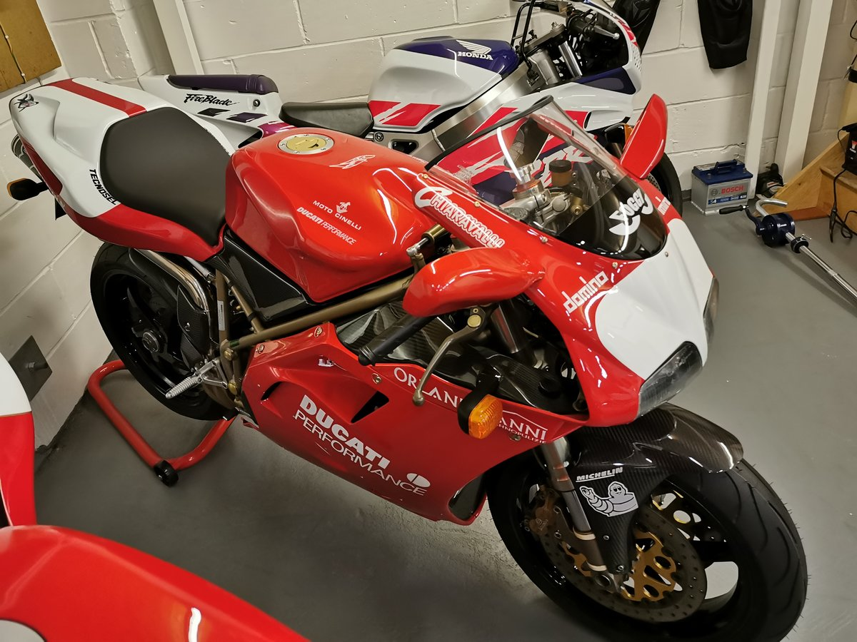 Ducati 748 SPS FOGGY REP 1998-R **MINT**LOW MILES** For Sale (picture 1 of 12)