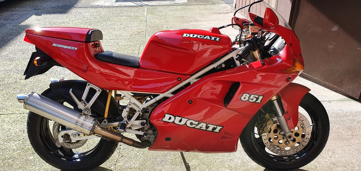 1992 DUCATI 851 For Sale (picture 1 of 2)