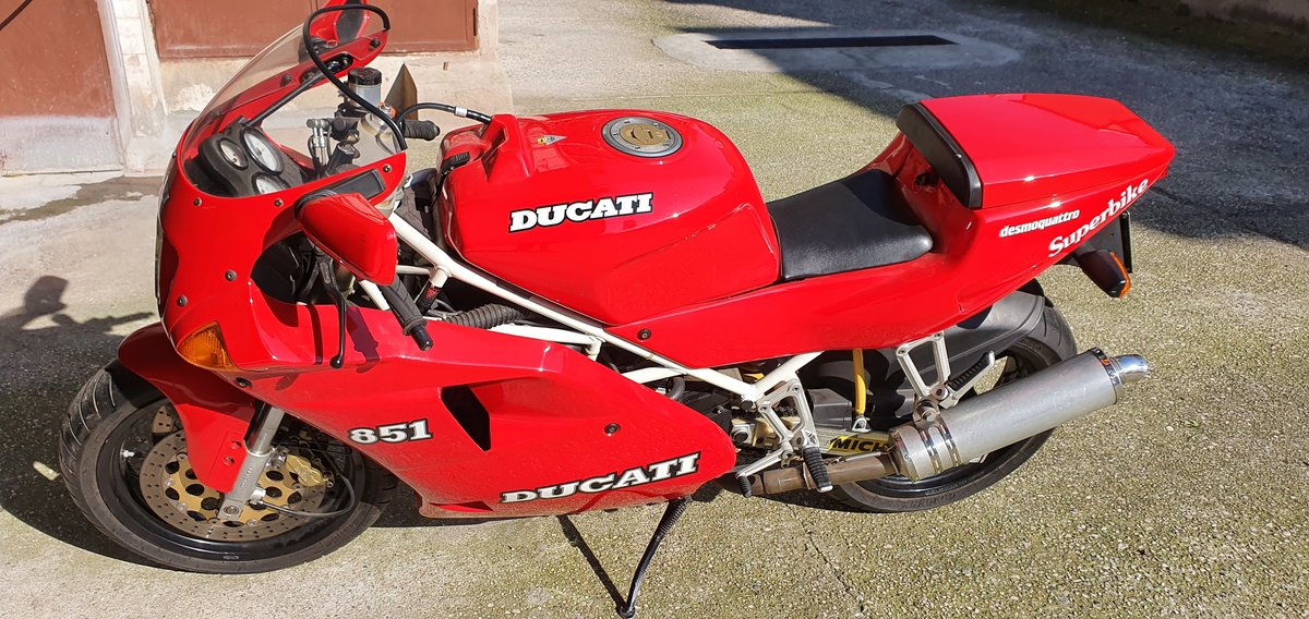 1992 DUCATI 851 For Sale (picture 2 of 2)