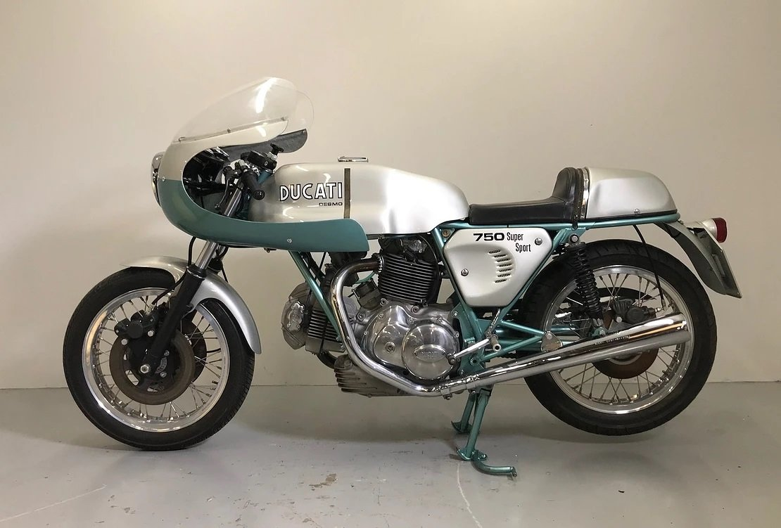1974 750SS Green frame the ultimate collectors Ducati For Sale (picture 2 of 2)