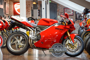 Picture of 2002 Ducati 748R Superb Example with Carbon Termignoni For Sale