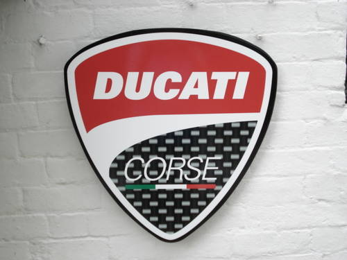 Ducati garage sign For Sale (picture 1 of 3)