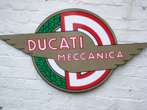 Ducati garage sign For Sale (picture 3 of 3)