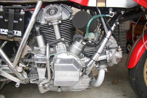 1978 NCR 900 TT F-1, Daspa frame, ex-Saltarelli. For Sale (picture 1 of 6)