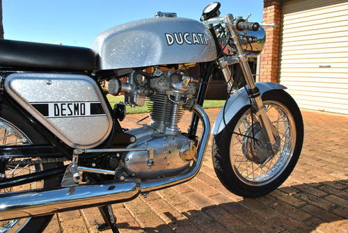 1972 Ducati Silver Shotgun For Sale (picture 3 of 6)