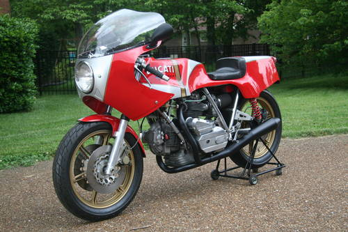 1978 NCR 900 TT F-1, Daspa frame, ex-Saltarelli. For Sale (picture 4 of 6)
