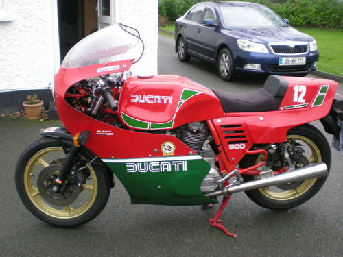 1983 Hailwood Replicia mhr 900 SOLD (picture 5 of 6)