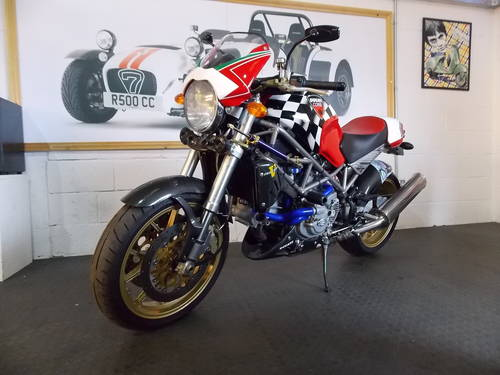 2001 Ducati Monster S4 Senna For Sale (picture 1 of 6)
