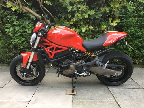 2015 Ducati Monster 821 Stripe, 1 Owner, 4600 miles, Exceptional SOLD (picture 2 of 6)