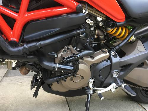 2015 Ducati Monster 821 Stripe, 1 Owner, 4600 miles, Exceptional SOLD (picture 6 of 6)