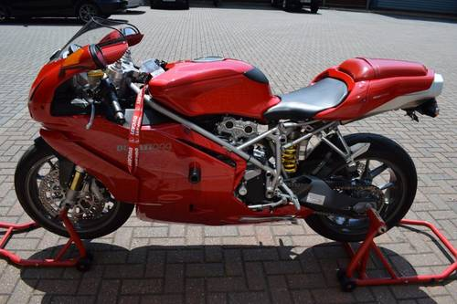 2004 Ducati 999 BIP-04 Just 5,000 miles with great history! SOLD (picture 2 of 6)