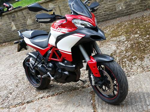 2013 Multistrada 1200 pikes peak showroom condition For Sale (picture 1 of 5)