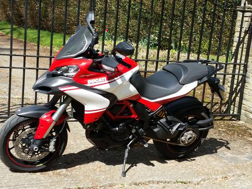 2013 Multistrada 1200 pikes peak showroom condition For Sale (picture 2 of 5)