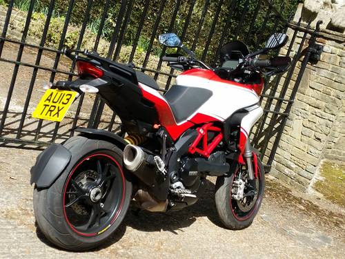 2013 Multistrada 1200 pikes peak showroom condition For Sale (picture 3 of 5)