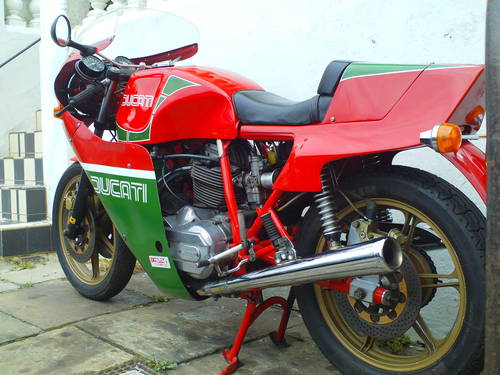 1981 DUCATI 900SS MHR  SOLD (picture 3 of 6)