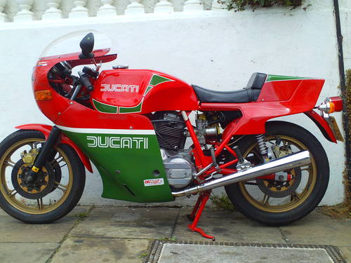 1981 DUCATI 900SS MHR  SOLD (picture 4 of 6)