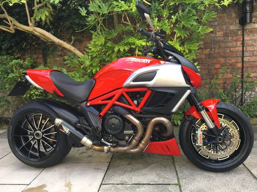 2011 Ducati Diavel, Full Ducati History, immaculate SOLD (picture 1 of 6)