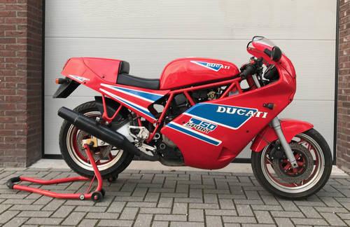1990 Ducati-750-Sport-Original-collector bike For Sale (picture 1 of 6)