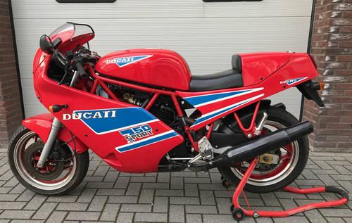 1990 Ducati-750-Sport-Original-collector bike For Sale (picture 2 of 6)
