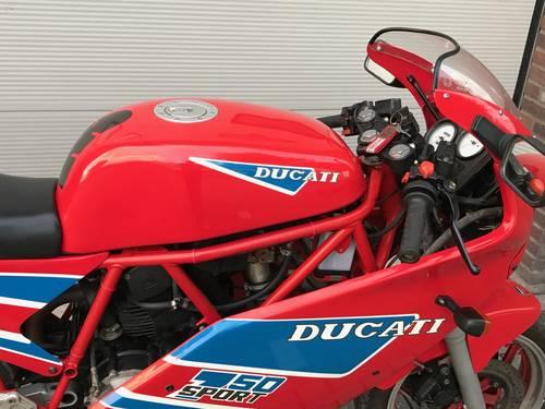 1990 Ducati-750-Sport-Original-collector bike For Sale (picture 3 of 6)