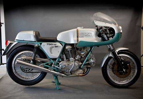 1974 Ducati 750 Supersport aka Greenframe For Sale (picture 1 of 6)