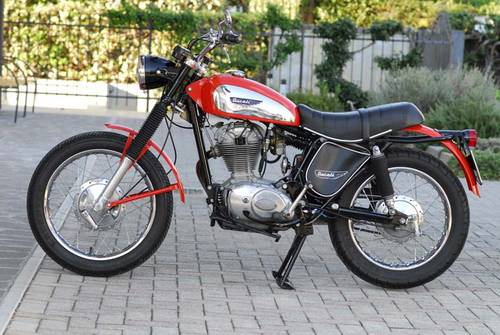 1974 Ducati 350 Scrambler SOLD (picture 1 of 6)