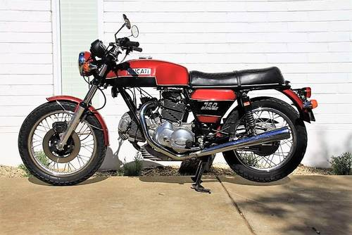 1974/78 Ducati 750GT For Sale (picture 1 of 6)