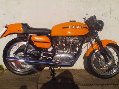 1974 DUCATI 250 MK3 DESMO REPLICA SOLD (picture 1 of 6)