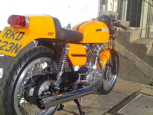 1974 DUCATI 250 MK3 DESMO REPLICA SOLD (picture 2 of 6)