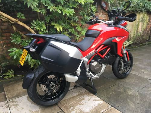 2015 Ducati Multistrada 1200 DVT Touring, Immaculate SOLD (picture 2 of 6)