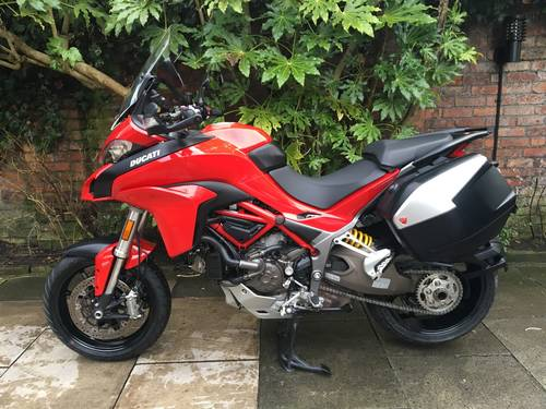 2015 Ducati Multistrada 1200 DVT Touring, Immaculate SOLD (picture 3 of 6)