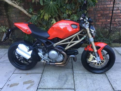2014 Ducati Monster 1100Evo 20th Anniversary 5600 miles Pristine SOLD (picture 1 of 6)