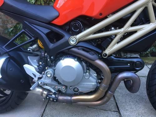2014 Ducati Monster 1100Evo 20th Anniversary 5600 miles Pristine SOLD (picture 5 of 6)