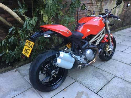 2014 Ducati Monster 1100Evo 20th Anniversary 5600 miles Pristine SOLD (picture 6 of 6)