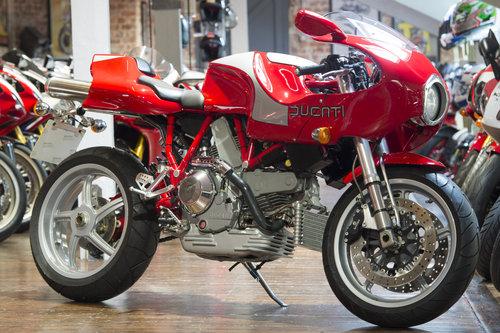 2001 Ducati MH900 Evoluzione Brand New Delivery miles For Sale (picture 1 of 6)