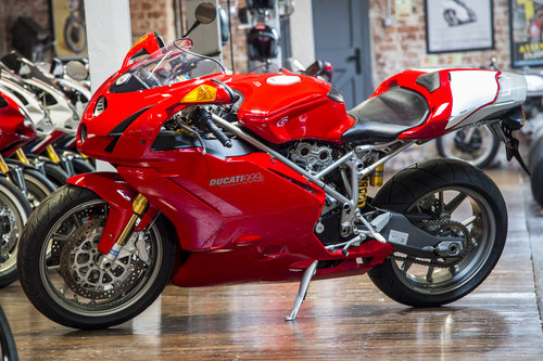 2003 Ducati 999S ORIGINAL LOW MILEAGE EXAMPLE For Sale (picture 6 of 6)