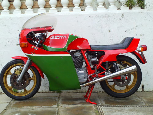 1979 DUCATI 900SS MHR FIRST SERIES SOLD (picture 3 of 6)