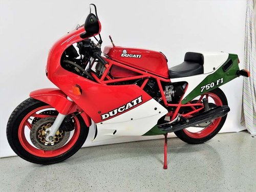1988 Ducati 750F1 Tricolore For Sale (picture 1 of 6)