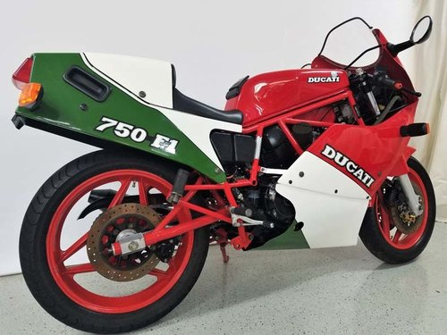 1988 Ducati 750F1 Tricolore For Sale (picture 3 of 6)