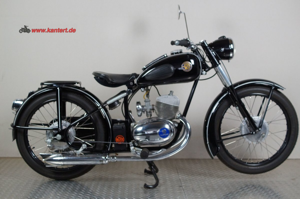 1955 Duerkopp MD 150, 148 cc, 8 hp For Sale (picture 2 of 12)
