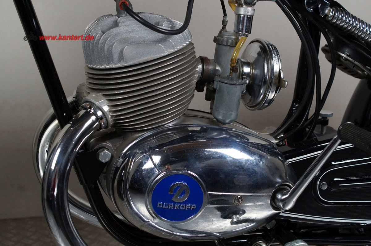 1955 Duerkopp MD 150, 148 cc, 8 hp For Sale (picture 7 of 12)