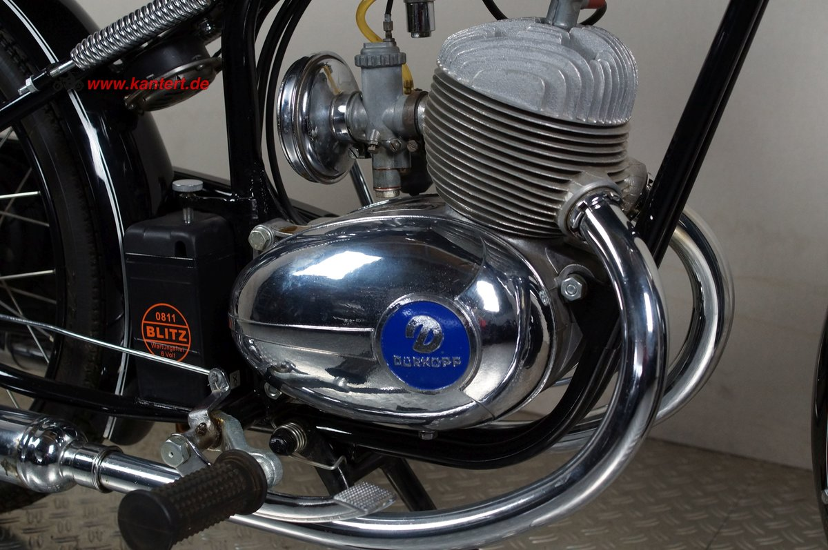 1955 Duerkopp MD 150, 148 cc, 8 hp For Sale (picture 8 of 12)