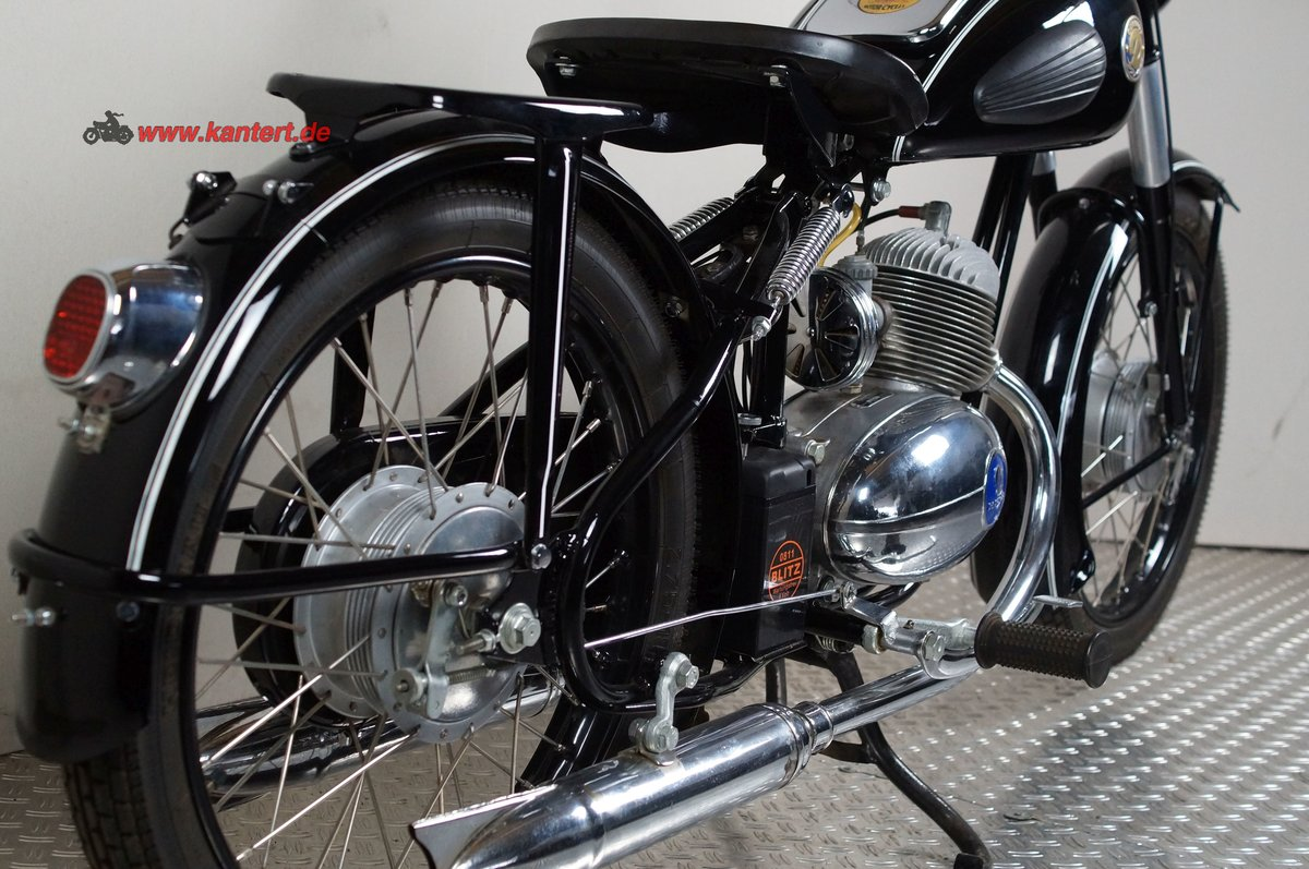 1955 Duerkopp MD 150, 148 cc, 8 hp For Sale (picture 12 of 12)