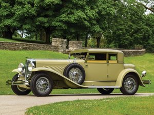 1932 Duesenberg Model J Victoria Coupe by Judkins For Sale by Auction