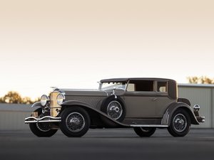 1932 Duesenberg Model J Stationary Victoria by Rollston