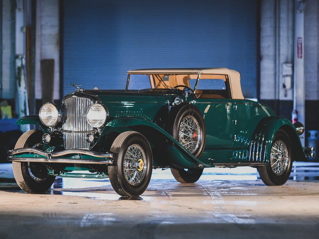 1930 Duesenberg Model J Convertible Coupe by Murphy For Sale by Auction (picture 1 of 6)