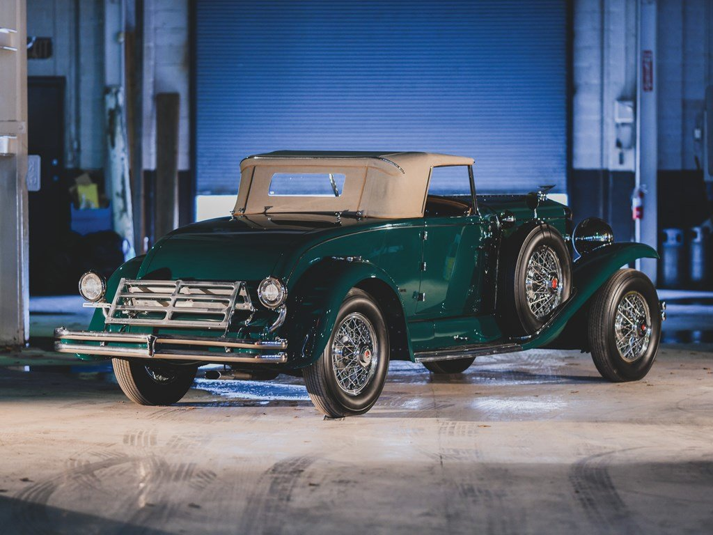 1930 Duesenberg Model J Convertible Coupe by Murphy For Sale by Auction (picture 2 of 6)