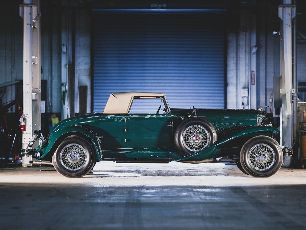 1930 Duesenberg Model J Convertible Coupe by Murphy For Sale by Auction (picture 5 of 6)